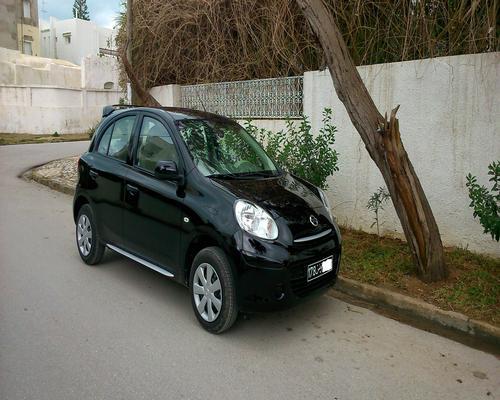 annonces voiture nissan micra occasion en tunisie nissan micra 4 acenta bvm 1 2l 80ch. Black Bedroom Furniture Sets. Home Design Ideas