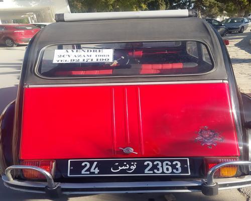 annonces voiture citroen 2 cv occasion en tunisie   vend 2 ch